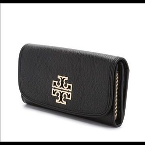 Tory Burch Britten Duo Continental Envelope Wallet